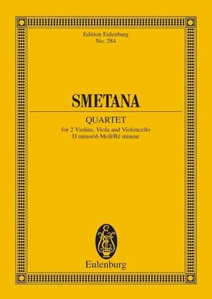 Smetana: String Quartet D minor