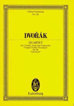Dvorák, A: String Quartet F major op. 96 B 179
