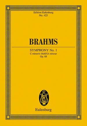 Brahms, J: Symphony No. 1 C minor op. 68