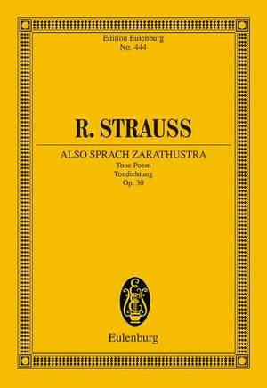 Strauss, R: Also sprach Zarathustra op. 30 TrV 176