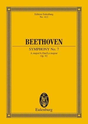 Beethoven, L v: Symphony No. 7 A major op. 92