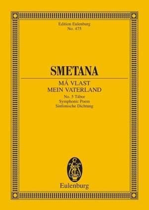 Smetana: Tábor (miniature score) Product Image