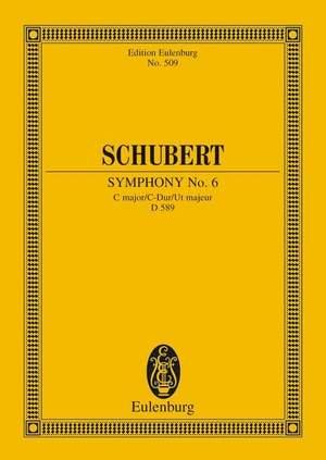 Schubert, F: Symphony No. 6 C Major D 589 Product Image