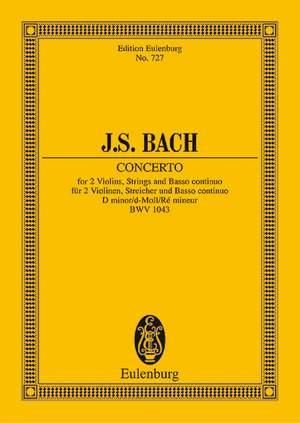 Bach, J S: Double Concerto D minor BWV 1043