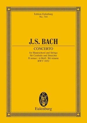 Bach, J S: Concerto D minor BWV 1052