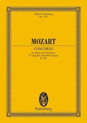Mozart, W A: Horn Concerto No. 4 Eb major KV 495