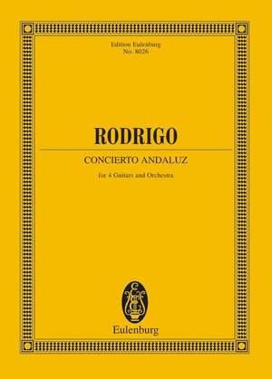 Rodrigo, J: Concierto andaluz