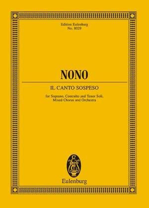 Nono, L: Il canto sospeso