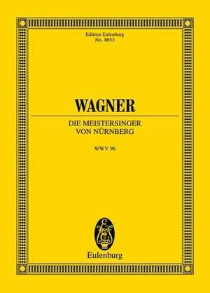 Wagner, R: Die Meistersinger von Nürnberg WWV 96