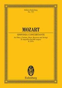 Mozart, W A: Sinfonia concertante Eb major KV 297b / KV Anh. I Nr. 9