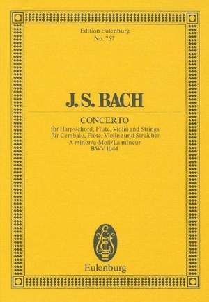 Bach, J S: Triple Concerto A minor BWV 1044