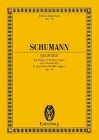 Schumann, R: Piano Quintet Eb major op. 44