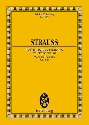 Johann Strauss II: Frühlingsstimmenwalzer (Voices of Spring) op. 410