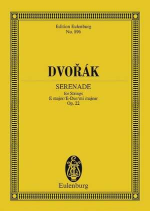 Dvorák, A: Serenade E major op. 22 B 52