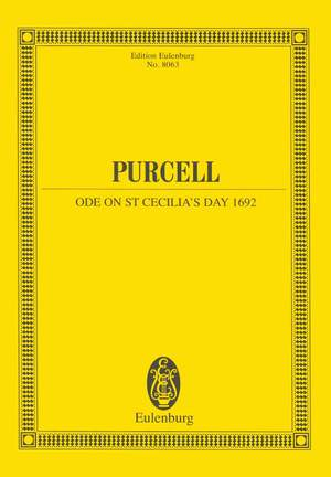 Purcell, H: Ode on St. Cecilia's Day 1692 Z 328  Z 328