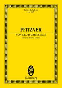 Pfitzner, H: A German Soul op. 28