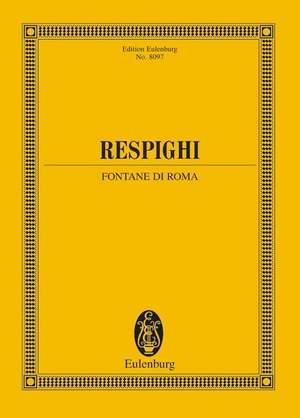 Respighi, O: Fountains of Rome