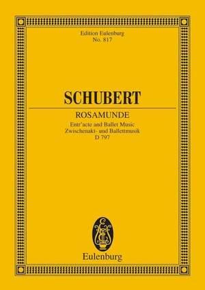 Schubert, F: Rosamunde op. 26 D 797 Product Image