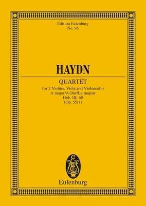 Haydn, J: String Quartet A major op. 55/1 Hob. III: 60