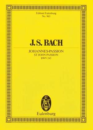 Bach, J S: St John Passion BWV 245