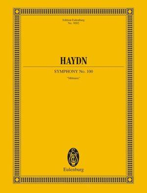 Haydn, J: Symphony No. 100 in G major Hob. I:100 Hob I: 100