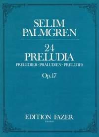 Palmgren, S: 24 Preludes op. 17