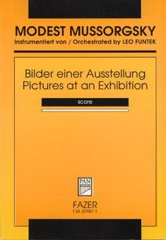 Moussorgsky, M: Pictures At An Exhibition