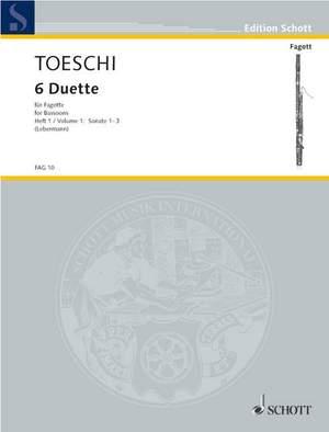 Toeschi, C J: Six Duets Vol. 1