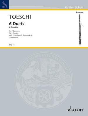 Toeschi, C J: Six Duets Vol. 2