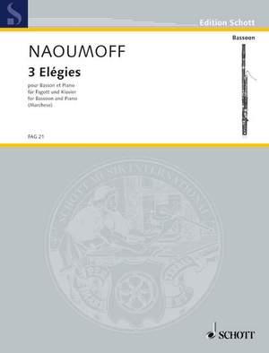 Naoumoff, E: Three Elégies