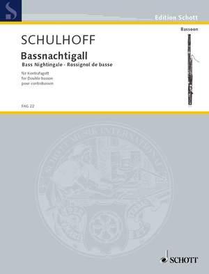 Schulhoff, E: Bassnachtigall op. 38