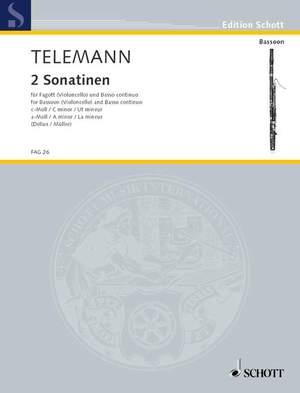 Telemann: Two Sonatinas