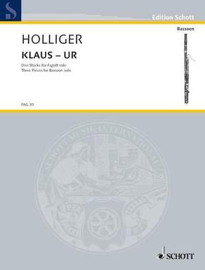 Holliger, H: Klaus-ur