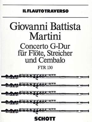 Martini, G B: Concerto G major Product Image