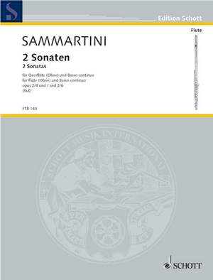 Sammartini, G B: Two Sonatas op. 2/4 and 6