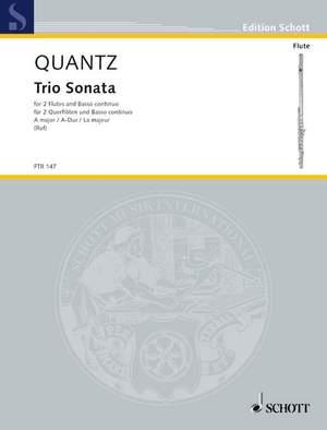 Quantz, J J: Triosonata A major