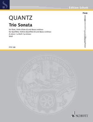 Quantz, J J: Triosonata a minor