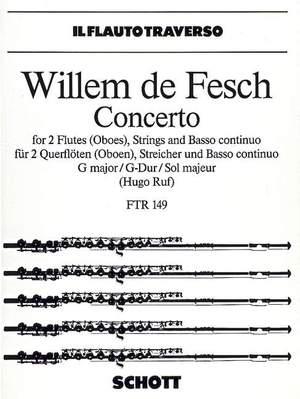 Fesch, W d: Concerto G major op. 10/8