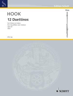 Hook, J: Twelve Duettinos op. 42 Product Image
