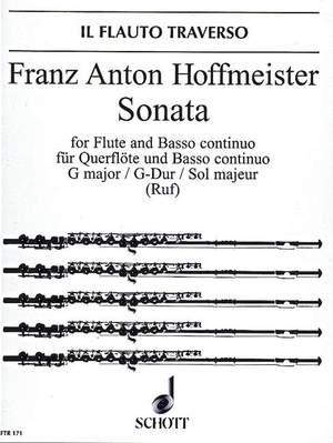 Hoffmeister, F A: Sonata G major op. 21/3