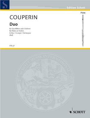 Couperin, F: Duo G Major