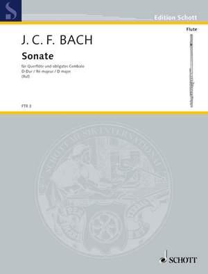 Bach, J C F: Sonata D major