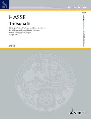 Hasse, J A: Triosonata No. 4 G major