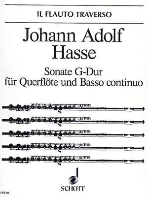 Hasse, J A: Sonata G Major