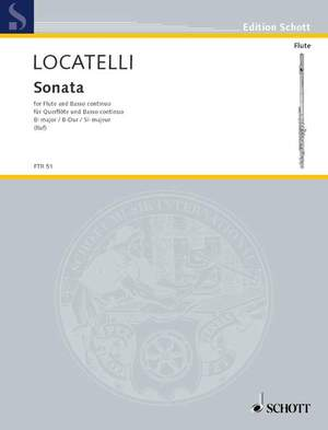Locatelli, P A: Sonata Bb major