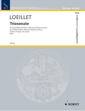 Loeillet, J B (: Triosonata op. 1