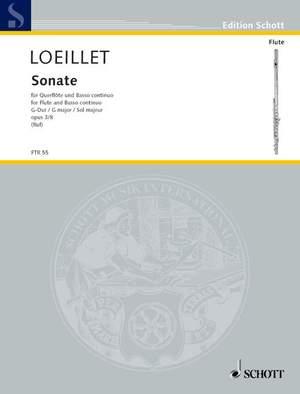 Loeillet, J B (: Sonata op. 3