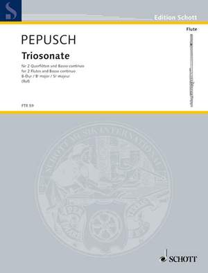 Pepusch, J C: Triosonata Bb major