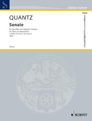 Quantz, J J: Sonata E minor