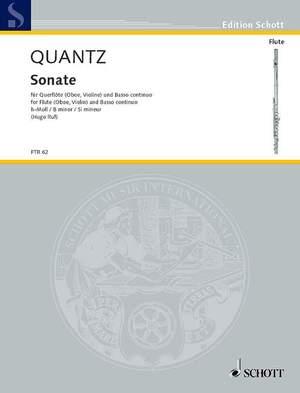 Quantz, J J: Sonata B minor